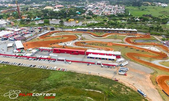 Aerial Professional Cover of the MXGP World Cup