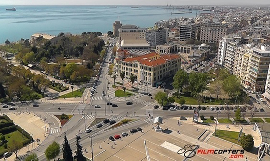 Aerial Professional Video Recording In Thessaloniki